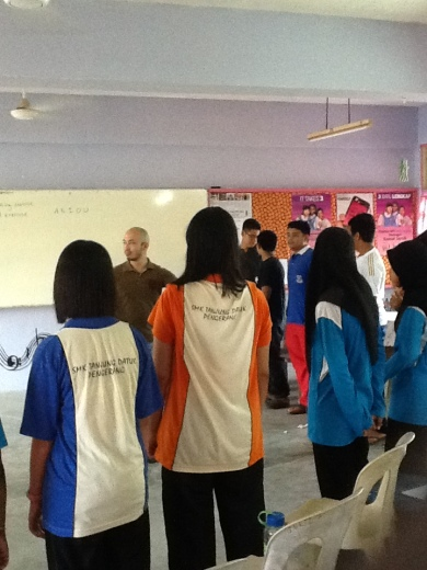 Teaching Malaysian Students!